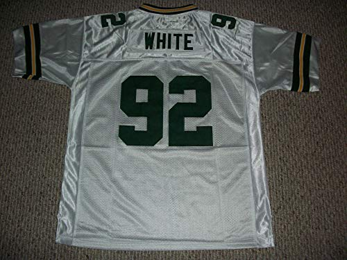 Unsigned Reggie White #92 Green Bay Custom Stitched White Football Jersey Various Sizes New No Brands/Logos Size 3XL