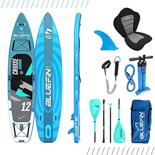 Bluefin SUP Sup Cruise Carbon 12', Adultos Unisex, Azul