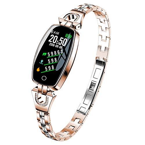 Fitness tracker H8, FüR Damen Outdoor Smart Armband, Wasserdichte KalorienzäHler - FüR Android Und Ios (DREI Farben Optional)