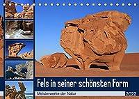 Fels in seiner schoensten Form (Tischkalender 2022 DIN A5 quer): Beeindruckende Naturkunstwerke aus Stein (Monatskalender, 14 Seiten )