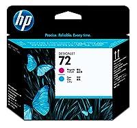 日本HP HP72プリントヘッドマゼンタ /シアン C9383A [並行輸入品]