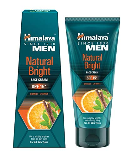 Himalaya Himalaya Men Natural Bright Face Cream for Men (SPF 15), 50 g