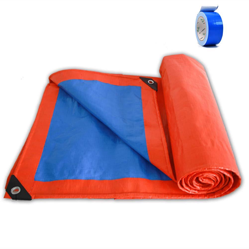 Tarp Impermeable Con Cinta,protector Solar Poly Tarp Cover Impermeable Uv Resistente Lona Para Barco Coche Piscina Almacén-azul 500x1000cm(197x394inch): Amazon.es: Bricolaje y herramientas