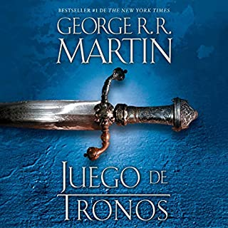 Juego de tronos [A Game of Thrones]     Canción de hielo y fuego, Libro 1              By:                                                                                                                                 George R. R. Martin                               Narrated by:                                                                                                                                 Victor Manuel Espinoza                      Length: 32 hrs and 44 mins     3 ratings     Overall 4.7