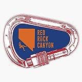 Red Rock Canyon Climbing Carabiner Sticker Vinyl...
