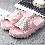 SXYRN Sandalias deslizantes Zapato, Fondo Ultra Suave, cómodo, baño en casa, Velocidad, Zapatos Secos, Polvo Grueso_36-37, Zapatos Casuales para la Playa y la Piscina, de Moda
