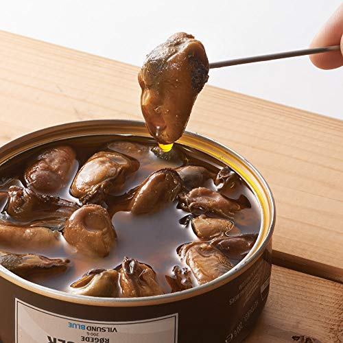 燻製ムール貝のオイル漬け 3缶セット 【デンマーク おみやげ(お土産) 輸入食品 グルメ 】