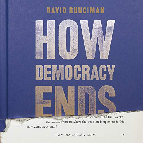 How Democracy Ends audiobook cover art