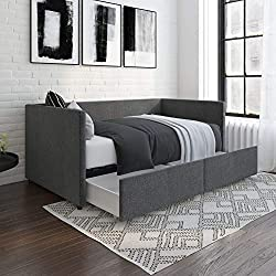 Heavy Duty Daybed With Drawers