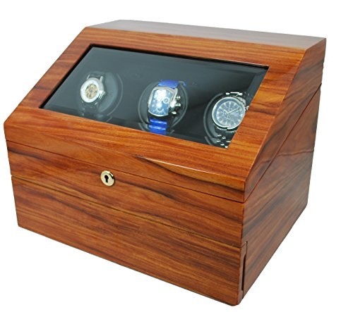Big Sale Orbita Siena 3 Watch Executive Programmable Winder In Teak