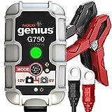 NOCO Genius G750EU 6V/12V,75 Ampères Chargeur de Batterie Intelligent et Mainteneur...