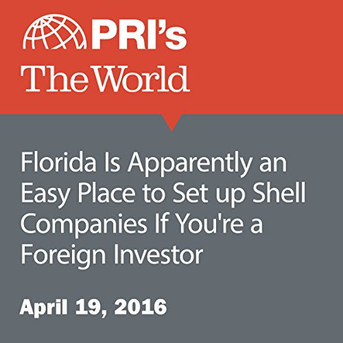Florida Is Apparently an Easy Place to Set up Shell Companies If You're a Foreign Investor audiobook cover art