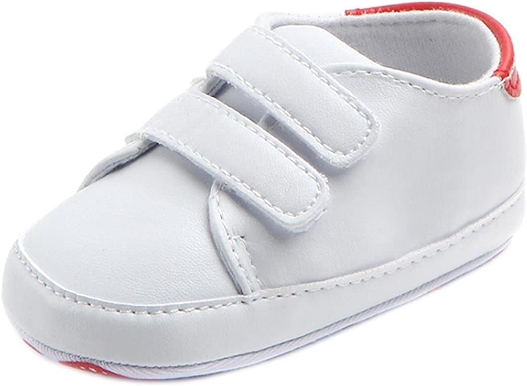 Moonker Toddler Shoes Special price for a limited time Baby Girl Boy Super Special SALE held Sn Soled White Soft Non-Slip