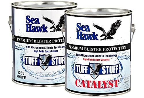 Sea Hawk Tuff Stuff White Epoxy Primer 1/2 Gallon Kit