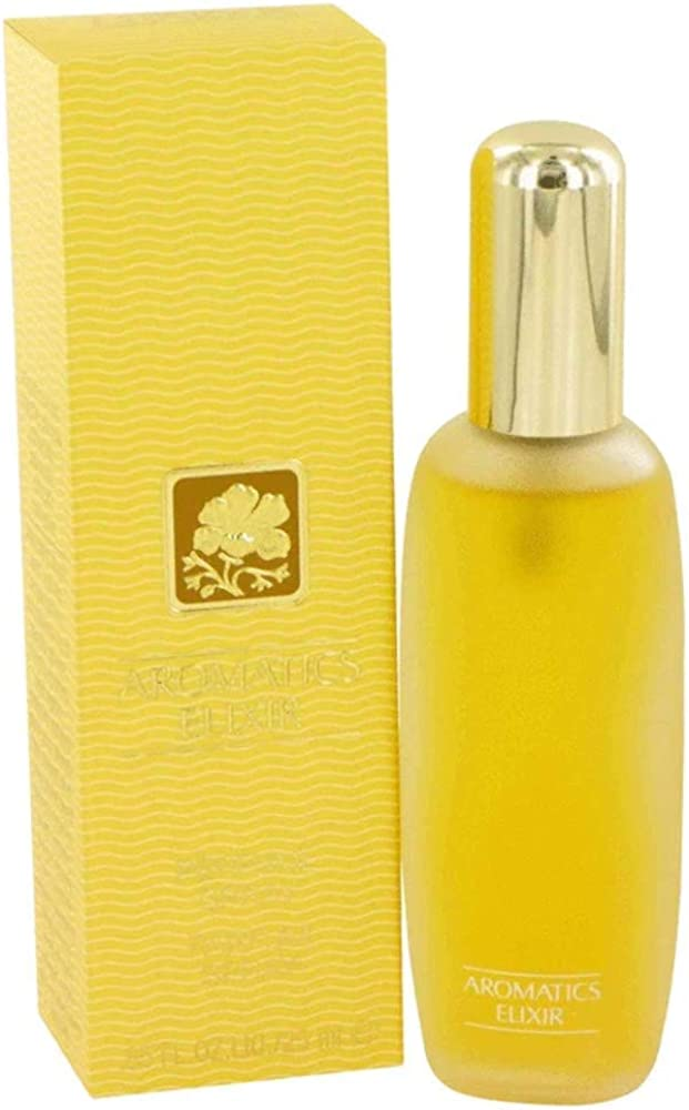 Clinique aromatics elixir, eau de parfum,profumo spray per donna, 25 ml 417124