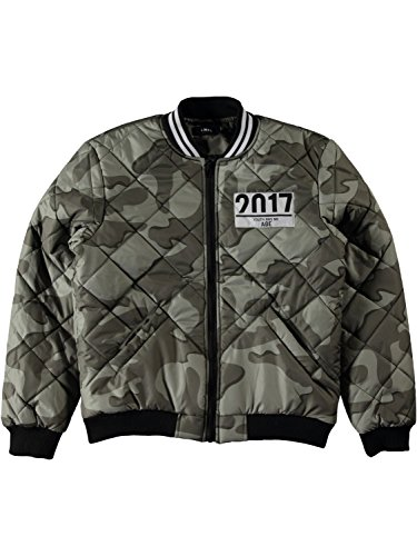Name it Jungen Bomberjacke Winter Camouflage wind- und wasserabweisend Nitmarius, Größe:146, Farbe:forest night