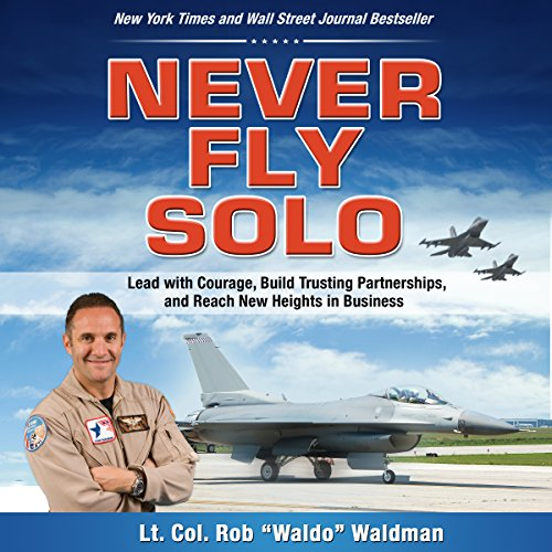 Never Fly Solo audiobook cover art