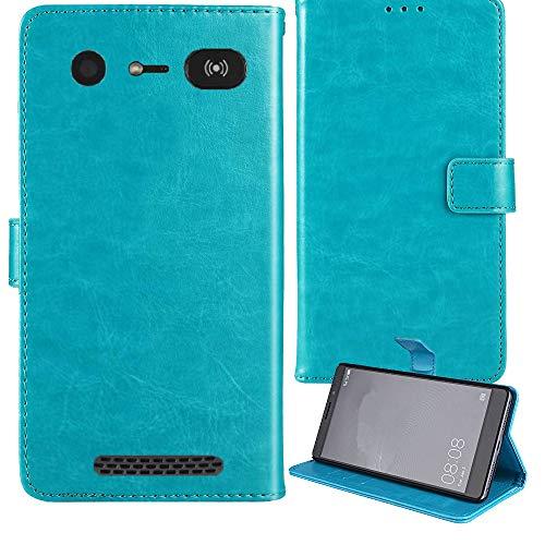 Lankashi Premium Retro Business Flip Book Stand Brieftasche Leder Tasche Schütz Hülle Handy Handy Hülle Für Doro 8040 8042 5