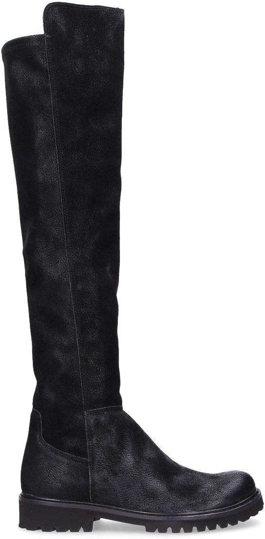Felmini Damen A569schwarz A569schwarz Schwarz Leder Stiefel  Alles in hoher Qualität und günstigem Preis