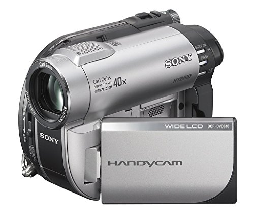 Sony DCR-DVD610 DVD Handycam Camcorder with 40x Optical Zoom (Discontinued by Manufacturer) (Renewed)
