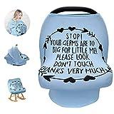 Yinuoday Baby Stillbezug für Autositz, Autositz, ohne Berührungszeichen, Baby Dusche