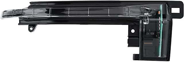 Qiilu Right Wing Mirror Indicator Turn Signal Light Lamp for Audi A3 A4 A5 S5 (8KD 949 102 C,8K0 949 102 B,8K0 949 102 C)