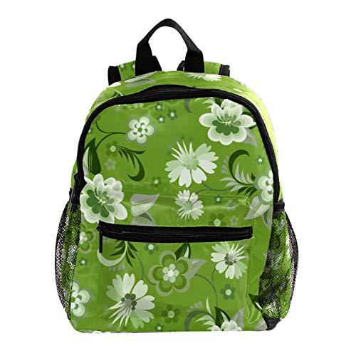 Rucksack für Kinder, Mädchen, niedliches Muster, bedruckt, Schultasche, Koralle, Orange und Sonne