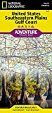 United States, Southeastern Plains and Gulf Coast (National Geographic Adventure Map, 3125)