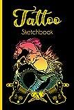 Tattoo Sketchbook: Tattoo Outline Logbook   Art Ideas Sketchbook   Handmade Art Design Journal   Perfect Gift For Tattoo Artist