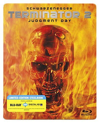 Terminator 2: Judgment Day [Blu-ray Steelbook + Digital HD]