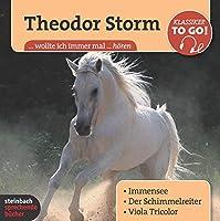 Drei ausgewaehlte Novellen - Klassiker to go: Immensee / Der Schimmelreiter / Viola Tricolor