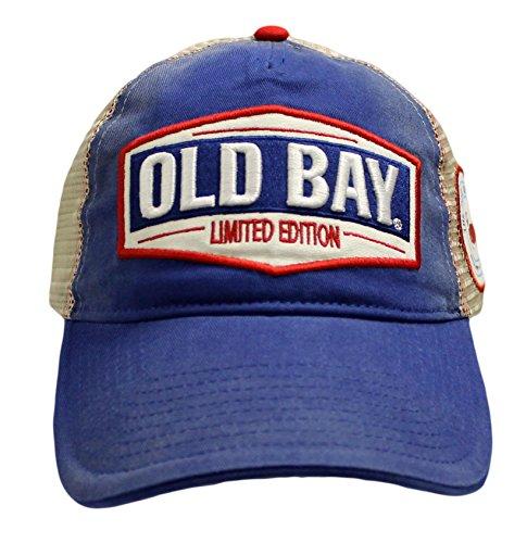 Old Bay Edición Limitada de Hombre Gorro de Gorra de béisbol (Talla única, Ajustable)