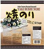 PaC Sushi Nori Sushinori - Alghe per Sushi (500 fogli) / Sushi Nori - Seaweed for Sushi (500 sheets) - 1,25 kg