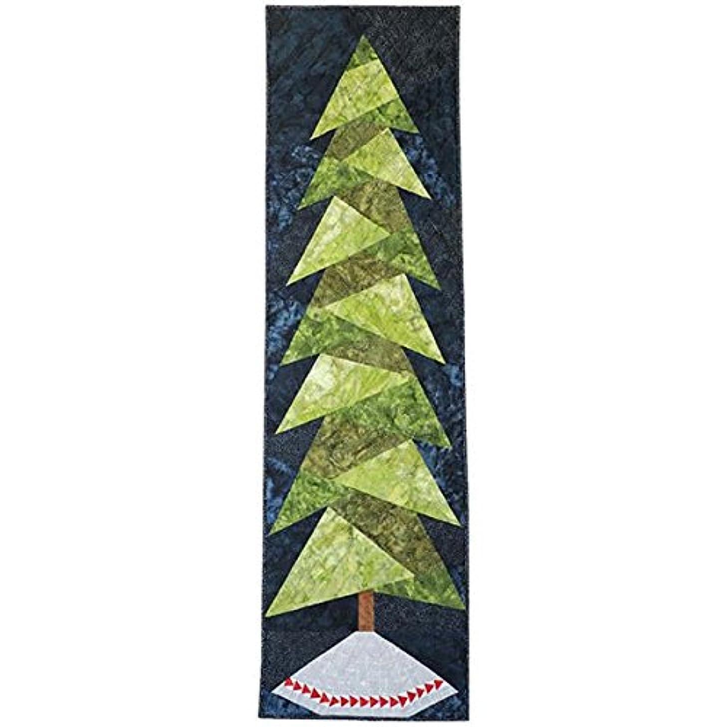 Me + You Indah Batiks & Solids Tree Hugger Midnight Quilt Kit Hoffman Fabrics CEKIT-128-MIDNIGHT