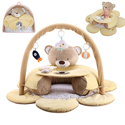 HQSF Game Blanket Safety Seat Baby Anti-Fall Learning Seat Bench Game Pad Crawling Blanket Fitness Frame Baby Sofa Toy