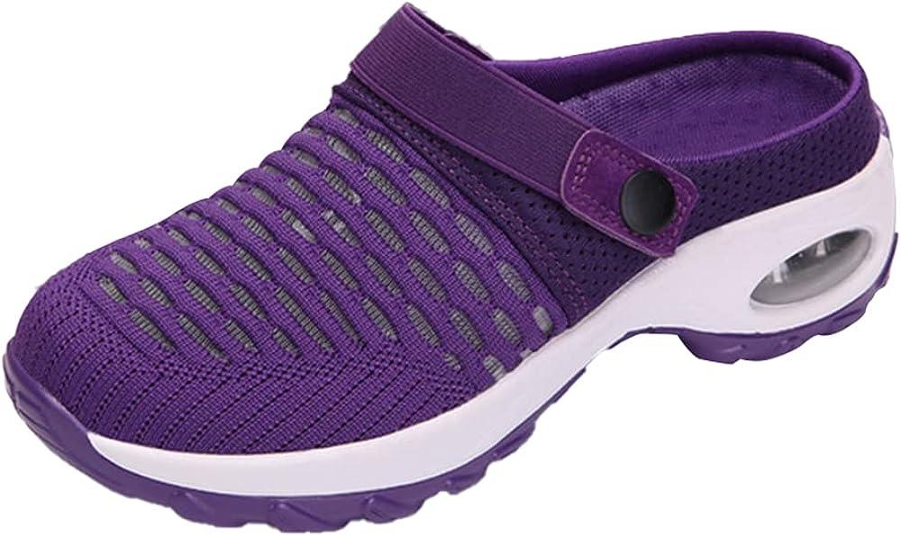Women's Platform Slippers Orthopedic Walking Sandals Breathable