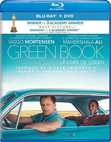 Green Book [Blu-ray + DVD + Digital] (Bilingual)