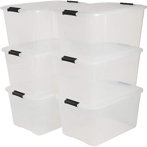 4-12er Rotho Clear Box /& Deckel Schuhe Aufbewahrungsbox Schuhbox  5L Stapelkiste
