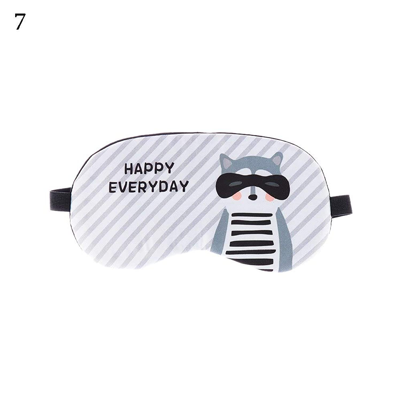 NOTE 1ピースラブリー漫画スリーピングマスクアイパッチアイカバー綿のためのアイトラベルリラックス睡眠補助アイパッチシェーディングアイマスク