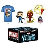 Funko Caja de suscripción Marvel Collector Corps, Cuatro Fantásticos - M, enero de 2020