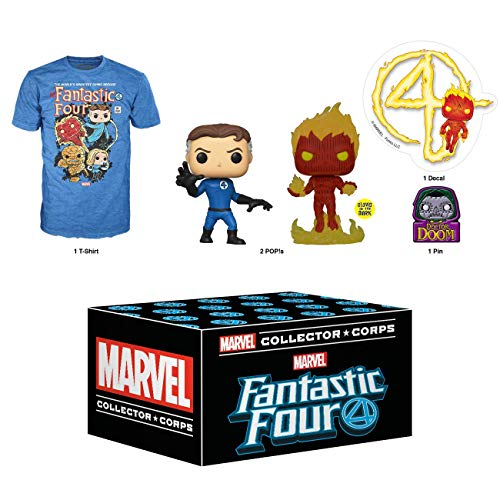 Funko Marvel Collector Corps Subscription Box, Fantastic Four - S, January 2020