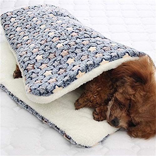 GSDJU dog blanket,travel,car blankets,sofa,carrying case,Pet Soft Flannel Thickened Pet Soft Fleece Pad Pet Blanket Bed For Puppy Dog Cat Sofa Cushion Home Washable Rug Keep Warm Bed