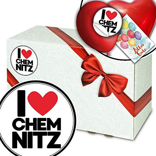 I love Chemnitz - Exklusive Verpackungen - Chemnitz Geschenkekorb