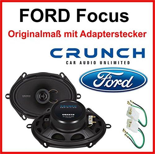 Ford Focus Lautsprecher vorne Türlautsprecher hinten Heck
