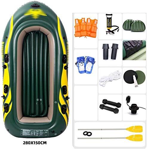 FANLIU Inflables Stand Up Paddle Board, Antideslizante de la Cubierta Tabla de Surf Bomba de Mano Kit de Soporte Carro Portátil Surf for Todos los Niveles