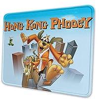 マウスパッド ゲーミングマウスパッド Hong Kong Phooey おしゃれ マウス用パッド スムーズで軽い操作感 レーザー?光学式マウス対応 表面 耐洗い おしゃれ 滑り止めゴム底 疲労軽減 耐久性 軽量