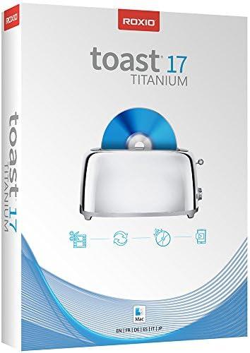 Roxio Toast 17 Titanium Complete DVD Burner Digital Media Suite Mac Disc Old Version product image