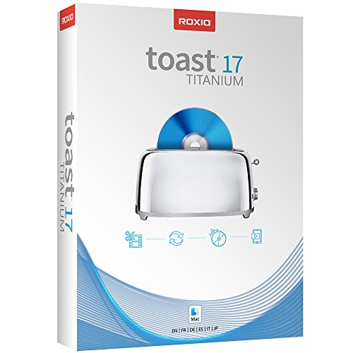 Toast 17 Titanium CD/DVD Burning Suite for Mac - Digital Download Onl