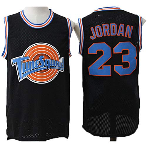 ULIIM Herren Michael Jordan Trikot-Chicago Bulls # 23 Jordan Basketball Swingman Trikot, ärmelloses Retro Gym Westensport Top (S-XXL)