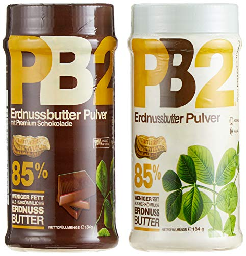 Bell Plantation PB2 Peanut Butter (Powdered) Mix Pack (Original & Chocolate), 1er Pack (1 x 368 g)